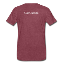 Load image into Gallery viewer, Superior Shoppe Men's Premium T-Shirt - heather burgundy