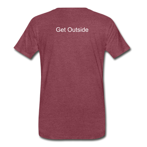 Superior Shoppe Men's Premium T-Shirt - heather burgundy