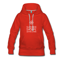 Load image into Gallery viewer, Women's Premium Hoodie - red