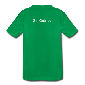 Superior Shoppe Kids' Premium T-Shirt - kelly green