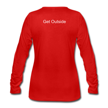 Load image into Gallery viewer, Superior Shoppe Women's Premium Long Sleeve T-Shirt - red
