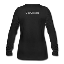 Load image into Gallery viewer, Superior Shoppe Women's Premium Long Sleeve T-Shirt - black
