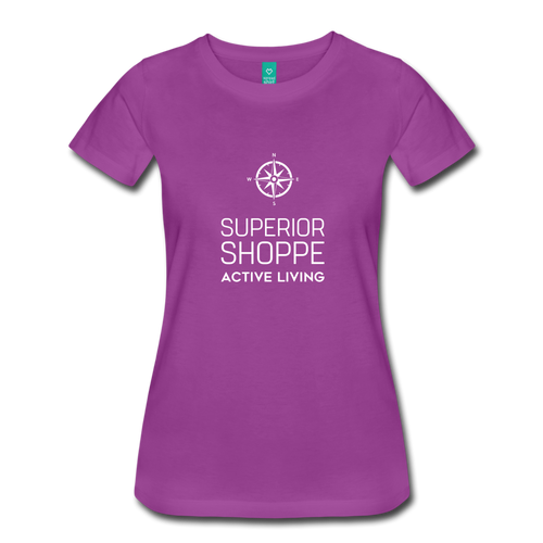 Superior Shoppe Women's Premium T-Shirt - light purple