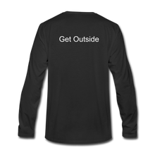 Load image into Gallery viewer, Superior Shoppe Men's Premium Long Sleeve T-Shirt - black