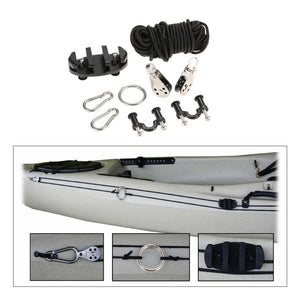 High Quality Kayak Anchor Trolley Cleat Kit Set