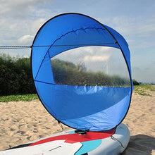 "Load image into Gallery viewer, 42""/108cm Foldable Kayak Sail"