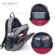 Load image into Gallery viewer, Sport Backpack with Charge Port and Laptop Compartment