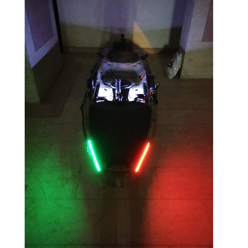 Red and Green Navigation LED Bow Lighting