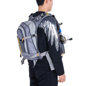 Lixada 3 In 1 Mesh Fly Fishing Vest and Backpack