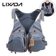 Load image into Gallery viewer, Lixada 3 In 1 Mesh Fly Fishing Vest and Backpack