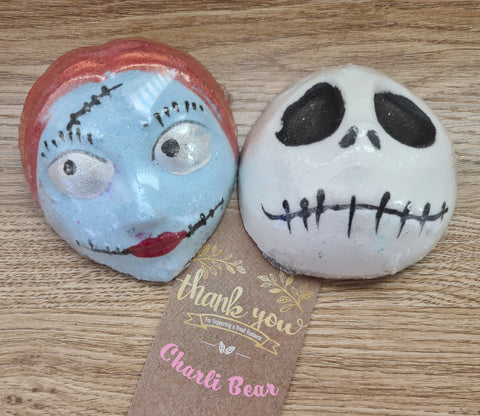 Jack and Sally Bath Bomb set