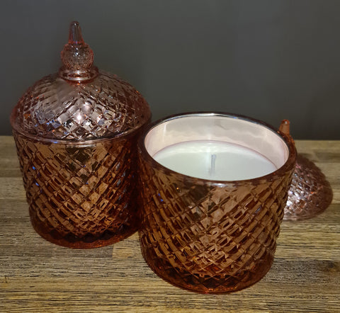 Rose Gold Delux Soy Candle