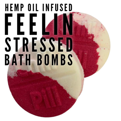 Hemp Oil Bath Bomb - Stress Less