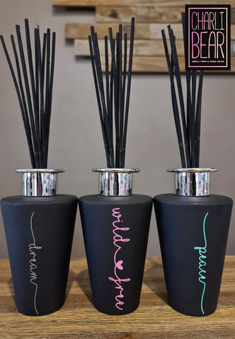 Black Reed Diffuser - Limited Edition