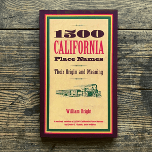 1500 California Place Names