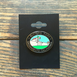 Sutter's Fort Collectible Pin