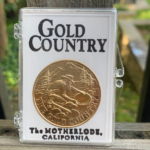 Gold Country Bronze Coin