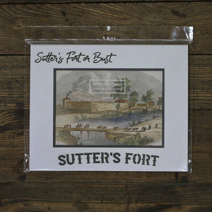 Sutter's Fort Photo Mat -- Large