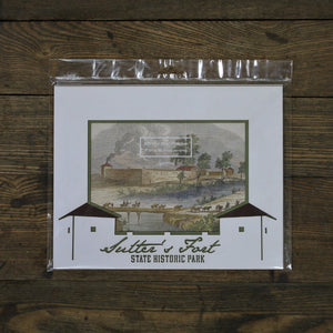 Sutter's Fort Photo Mat -- Small