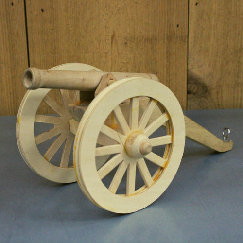 Wood Cannon Model Kit