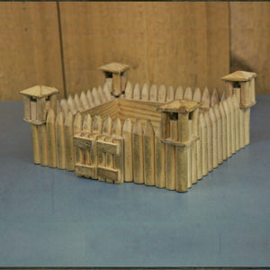 Wood Fort Model Kit