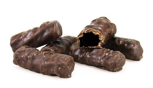 Dark Chocolate Licorice Bites