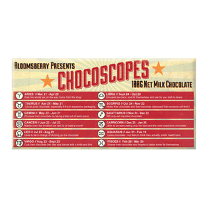 Chocoscopes Milk Chocolate Block