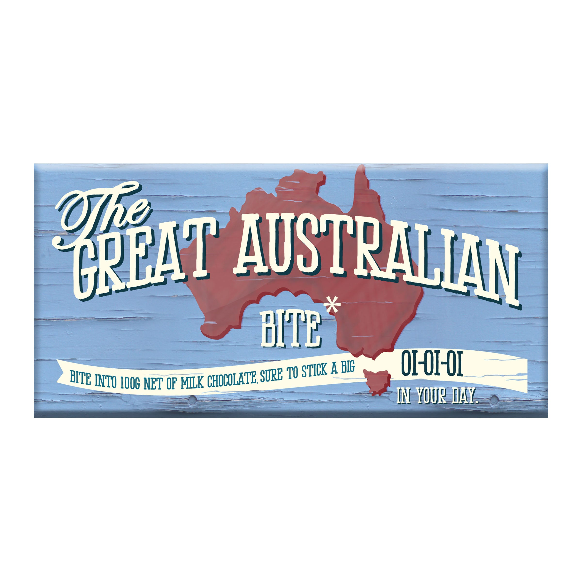 Great Australian Bite Milk Chocolate Block