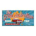 Great Australian Road Trip Milk Chocolate Block