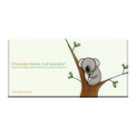 Koala Bearable Milk Chocolate Block