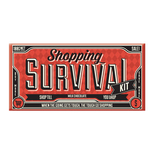 Shopping Survival Milk Chocolate Block