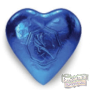 Chocolate Hearts Blue Specialty