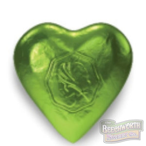 Chocolate Hearts Green Specialty