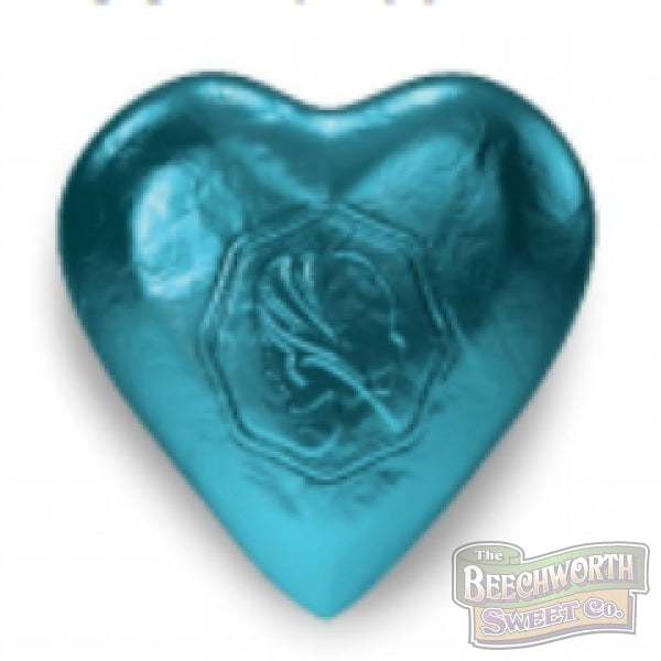 Chocolate Hearts Teal Specialty
