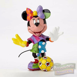 Soccer Minnie Mouse