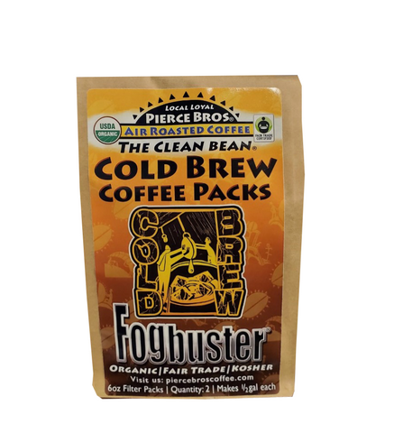 The Original Fogbuster® - Cold Brew Coffee Filter Packs - Pierce Bros Coffee
