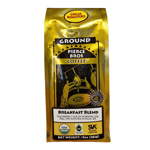 Breakfast Blend - Medium Roast - Pierce Bros Coffee