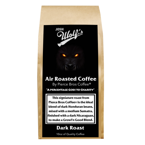 Comedian: Josh Wolf Blend - Dark Roast (10% Goes to Charity) - Pierce Bros Coffee