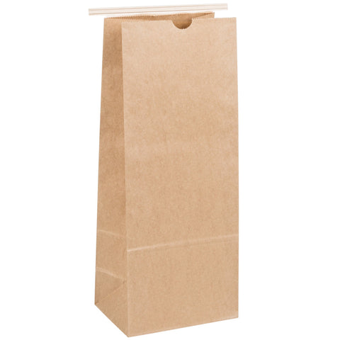 1lb Kraft Bag - For Storing Coffee (Single Bag) - Pierce Bros Coffee