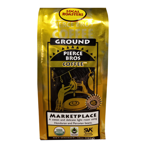 Marketplace Blend - Light Roast - Pierce Bros Coffee