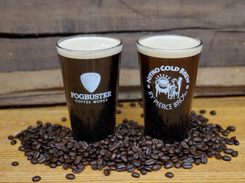 Fogbuster® Coffee Works Pint Glass - Pierce Bros Coffee
