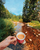 Trout and Coffee - Creative Chickadee - Pierce Bros Coffee