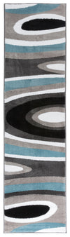 "Alpine 110 Blue Area Rug-Area Rug-World Rug Gallery-2' x 7'2""-The Rug Truck"