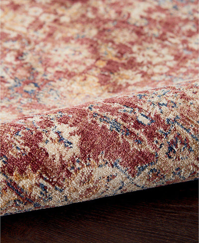 Taza TAZ02 Heriz Red-Area Rugs-Kenneth Mink Home-The Rug Truck