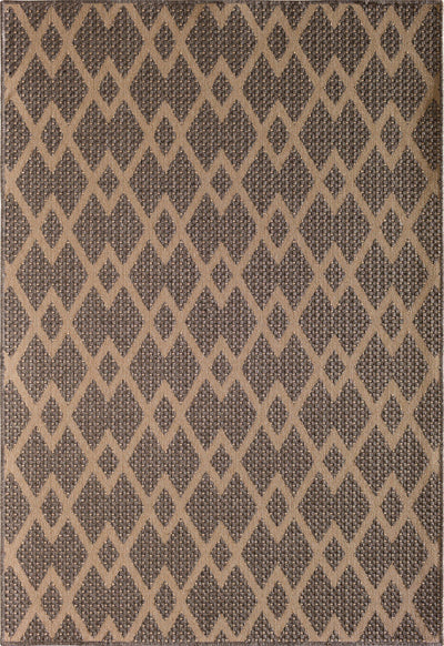 "Mykonos Chevron Natural Area Rug-Area Rug-The Rug Truck-5'3"" x 7'7""-The Rug Truck"