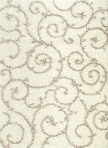 "Florida 2323 Cream Area Rug-Area Rug-World Rug Gallery-3'3"" x 5'-The Rug Truck"