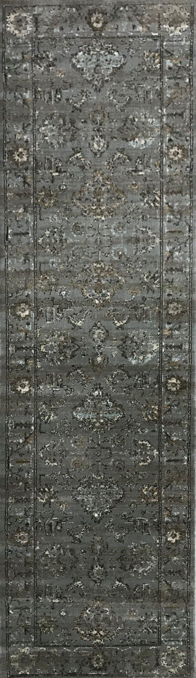 Allora 3562 Grey Area Rug (2'2 x 7'7)