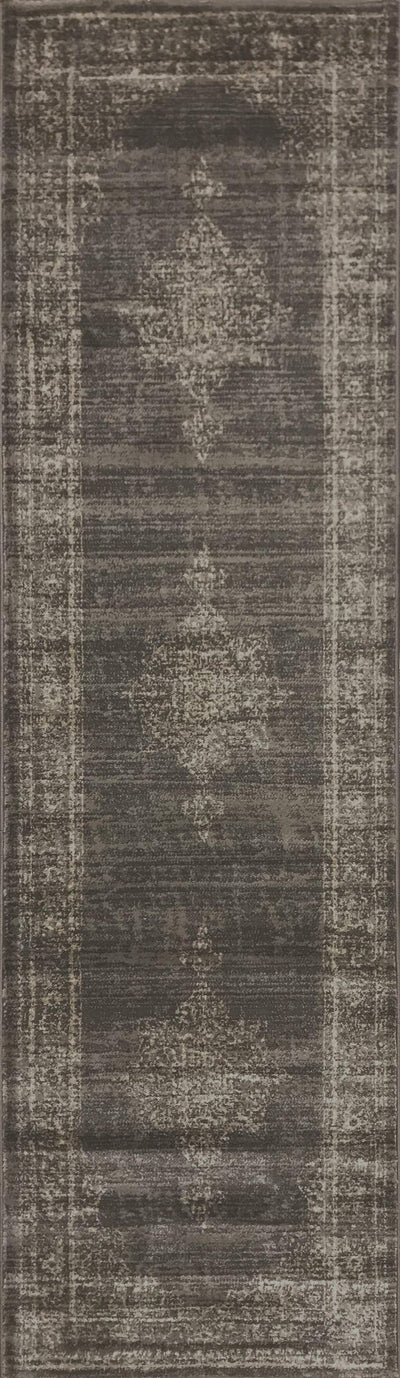 Allora 3563 Light Brown Area Rug (2'2 x 7'7)