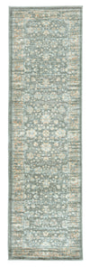 Francesca 501 Light Green Area Rug (2'2 x 7'7)