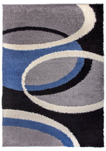 "Hampton 750 Blue Area Rug-Area Rug-World Rug Gallery-3'3"" x 5'-The Rug Truck"